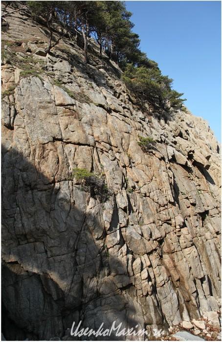 Полуостров Гамова. Очень манящая стена для скалолазания