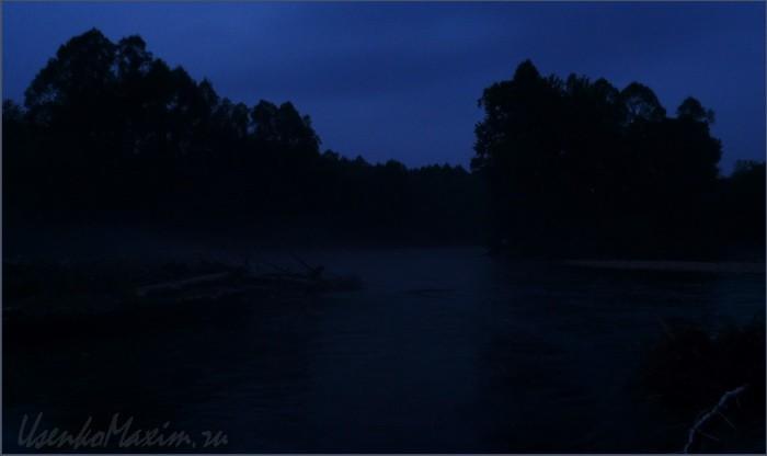 Река Каменушка. Ночная река имеет свое очарование. Особенно в звуках