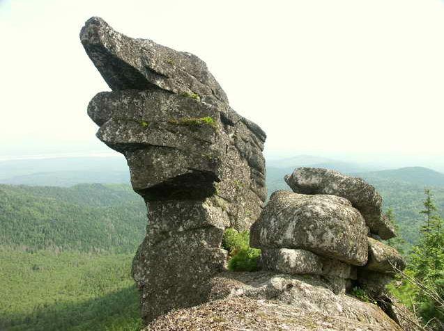 Амурские столбы. Дельфин-камень. Южная стена