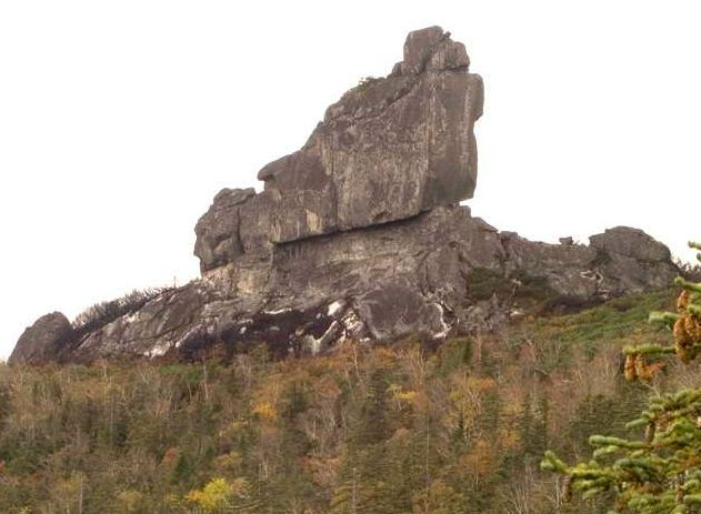 Амурские столбы. Шаман-камень. Вид с Северо-восточной стены