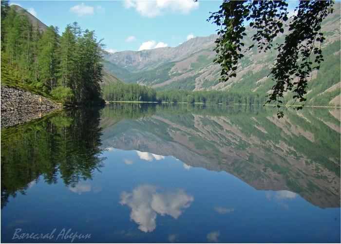 Озеро Омот. Еще раз зеркало