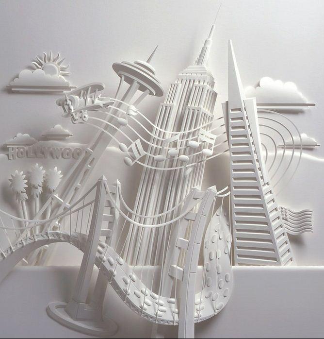 Скульптор Джеф Нишинака. Jeff Nishinaka. Музыка городов