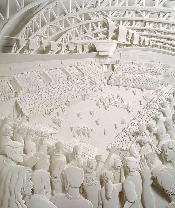 Скульптор Джеф Нишинака. Jeff Nishinaka. Современные арены
