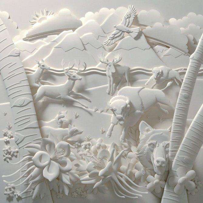 Скульптор Джеф Нишинака. Jeff Nishinaka. Жизнь, как она есть
