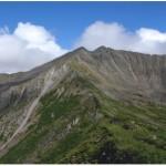 Баджальский хребет. Два цирка горы Улун