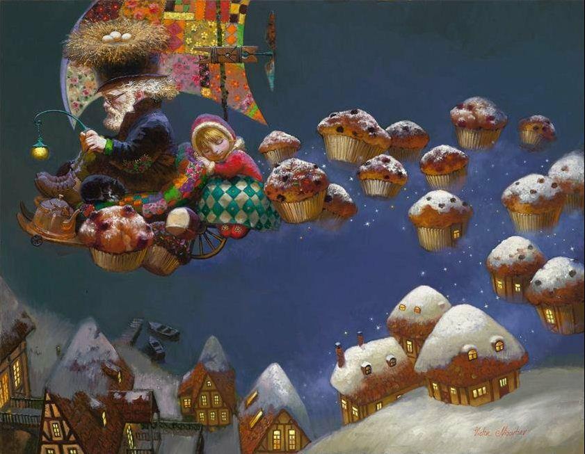 Художник Виктор Низовцев. Детские иллюстрации. Мир детской Пасхи