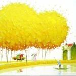 Мастихиновая живопись художницы Phan Thu Trang. Картина седьмая