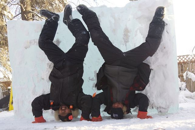 Аляска 2012. 1 место. Nakamura Junichi, Dagatan Victor