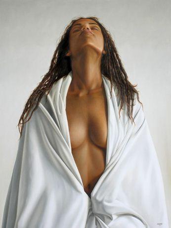 Художник Omar Ortiz. Гиперреалистичная картина 120х90 холст масло