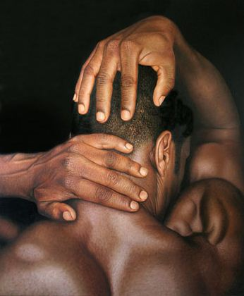 Художник Omar Ortiz. Гиперреалистичная картина 190х160 холст масло