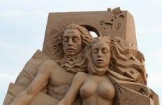 Песчаная скульптура двадцать первая