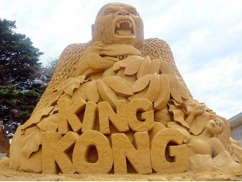 Песчаная скульптура двадцать седьмая