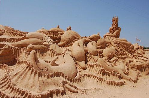 Песчаная скульптура двадцать третья