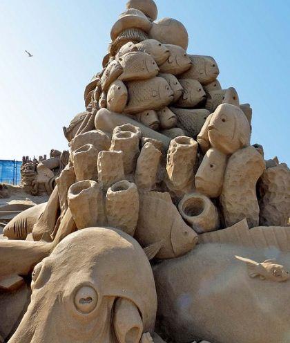 Песчаная скульптура двенадцатая