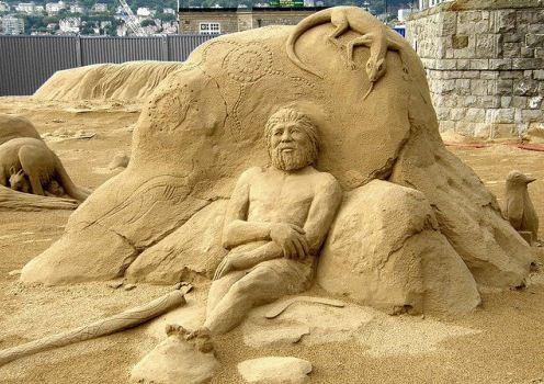 Песчаная скульптура пятая