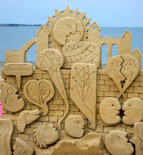 Песчаная скульптура восемнадцатая
