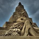 Песчаная скульптура. Подборка третья. Скульптура двадцать четвертая