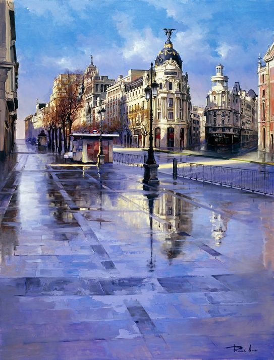 Ricardo Sanz. Городской пейзаж четвертый