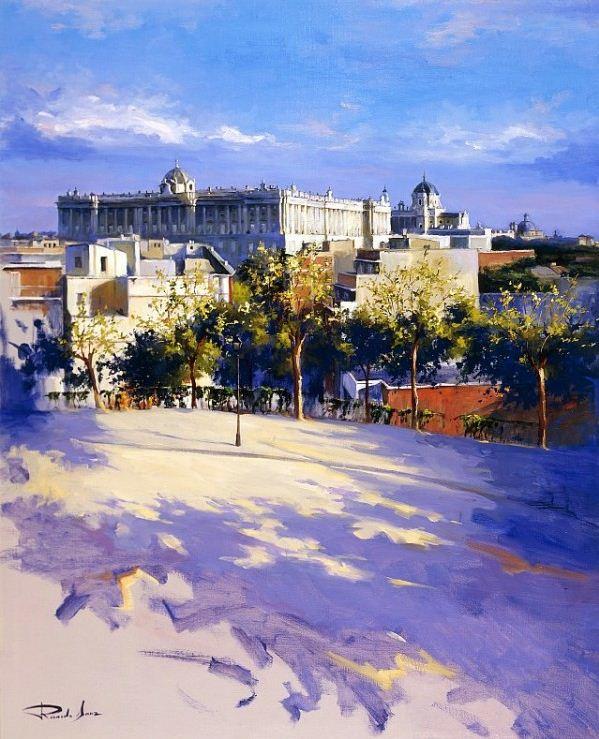 Ricardo Sanz. Городской пейзаж четырнадцатый