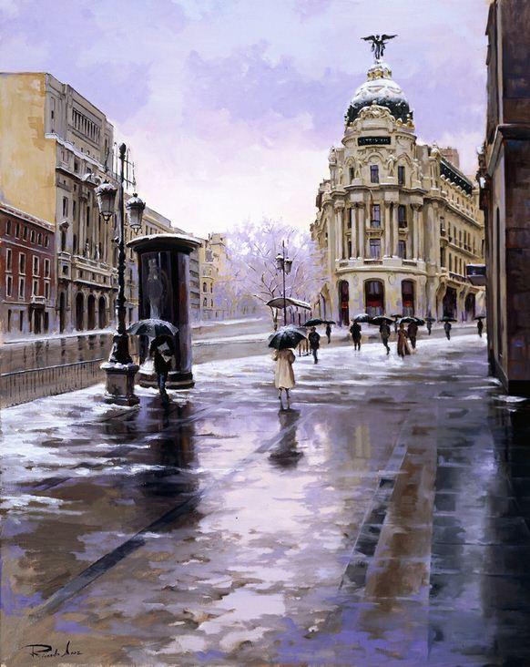Ricardo Sanz. Городской пейзаж шестой