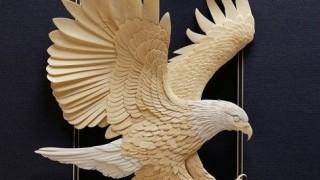 Skulptura-iz-bumagi-Calvin-Nicholls.-Animalistika-v-skulpture-chetyirnadtsataya