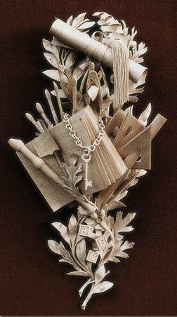 David Esterly. Резьба по дереву. Деревянная скульптура двенадцатая