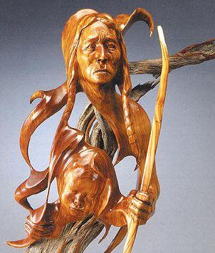 J. Christopher White. Изящные деревянные скульптуры. Четвертая