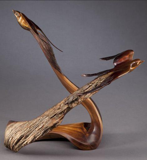 J. Christopher White. Изящные деревянные скульптуры. Десятая