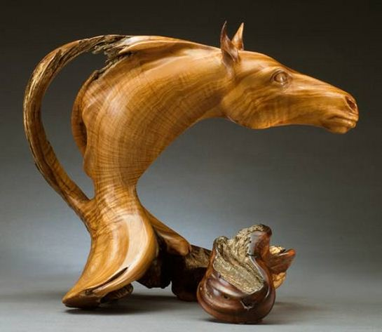 J. Christopher White. Изящные деревянные скульптуры. Двадцать третья