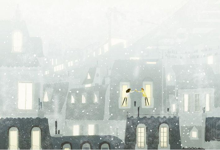 Pascal Campion. Душевные цифровые иллюстрации. Восемнадцатая