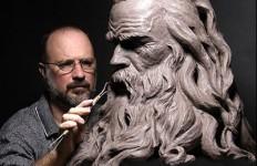 Philippe Faraut. Скульптура из глины. Покой