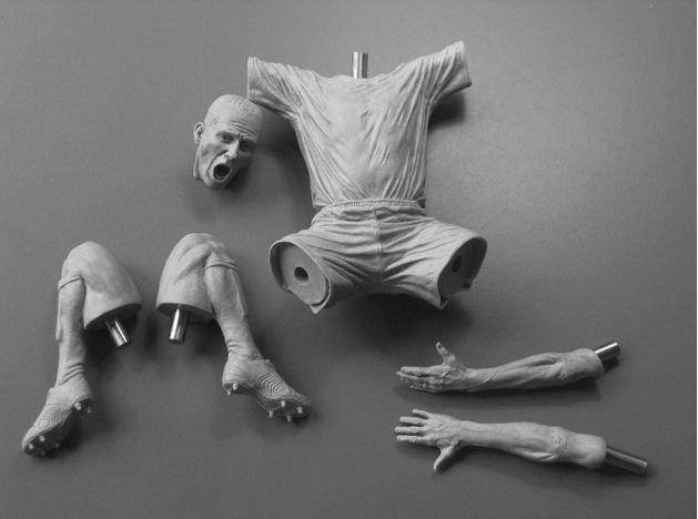 Adam Beane. Мини скульптура. Paolo DiCanio в разборе