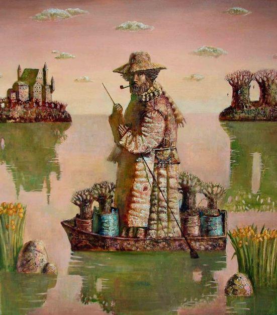 Борис Балахонцев. Интересные картины художников. Двенадцатая