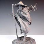 Mark Newman. Мелкая скульптура. Мудрый странник. Весь