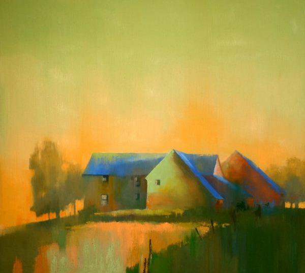 Paul Stone. Минимализм в живописи. Картина вторая