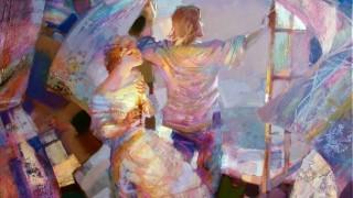 Евгений Кузнецов. Абстракция в живописи. Окно. 80х100. холст масло