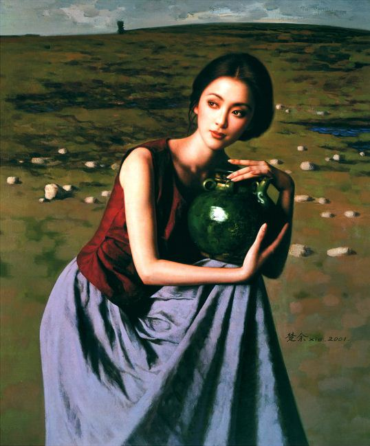 Xie Chuyu. Китайский портрет. Десятый