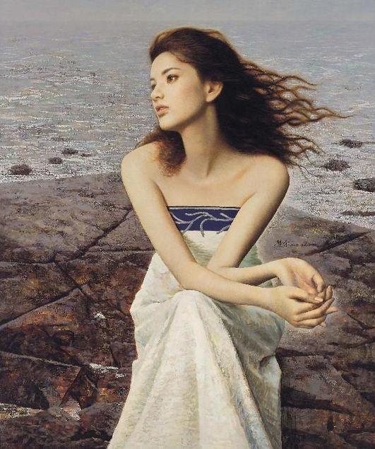 Xie Chuyu. Китайский портрет. Первый