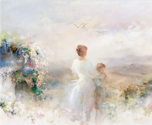 Willem Haenraets. Воздушная живопись. BEAUTIFUL VIEW