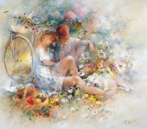 Willem Haenraets. Воздушная живопись. Trip in spring
