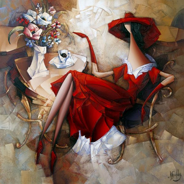 Израильский художник Nathan Brutsky. Картина четвертая
