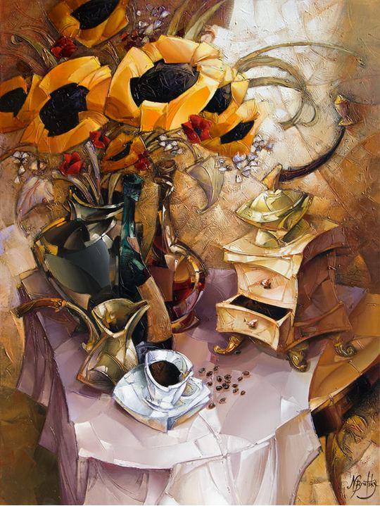 Израильский художник Nathan Brutsky. Картина шестая