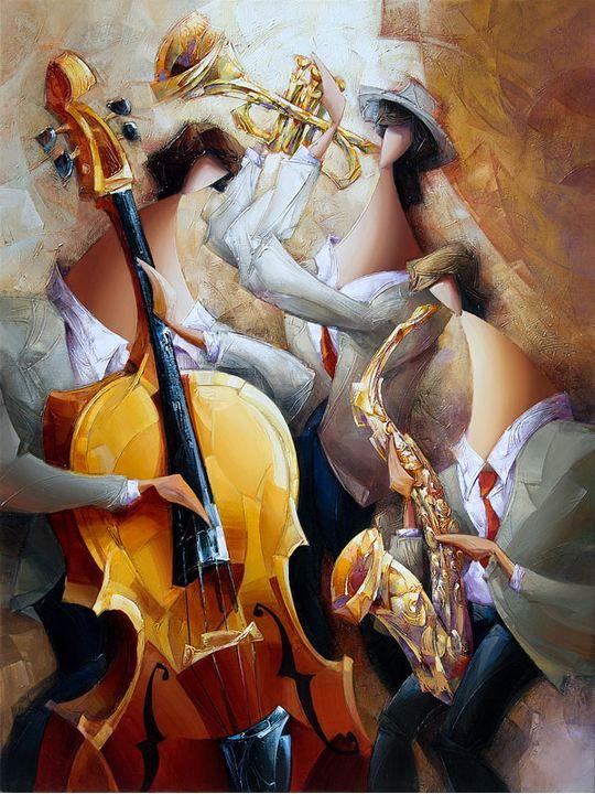 Израильский художник Nathan Brutsky. Картина восьмая