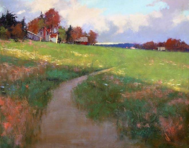 Romona Youngquist. Американский пейзаж в живописи. Картина четвертая