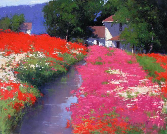 Romona Youngquist. Американский пейзаж в живописи. Картина первая