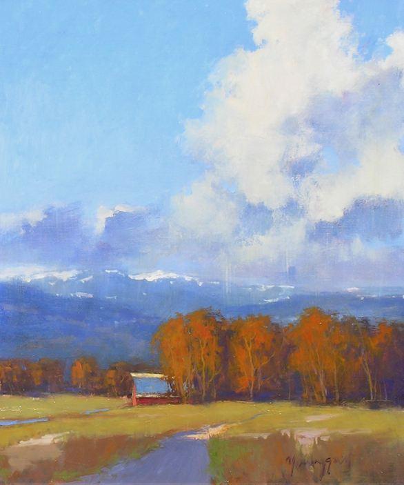 Romona Youngquist. Американский пейзаж в живописи. Третья