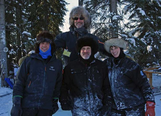 Ice Alaska 2013. Multi block. Реалистика. 1 место. Brice Steve, Brice Heather, Cox Steve, Cox Justin. США