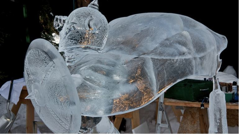 Ice Alaska 2013. Multi block. Реалистика. 1 место. Hunting Dragons. Фрагмент
