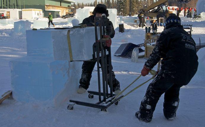 Ice Alaska 2013. Multi block. Реалистика. 1 место. Hunting Dragons. Начало