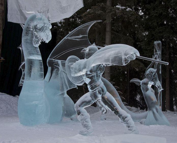 Ice Alaska 2013. Multi block. Реалистика. 1 место. Hunting Dragons